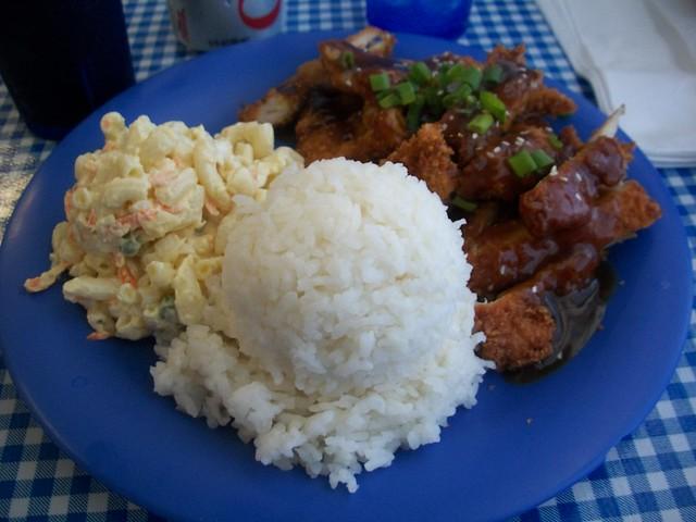 Chicken Katsu at Blue Ginger Cafe