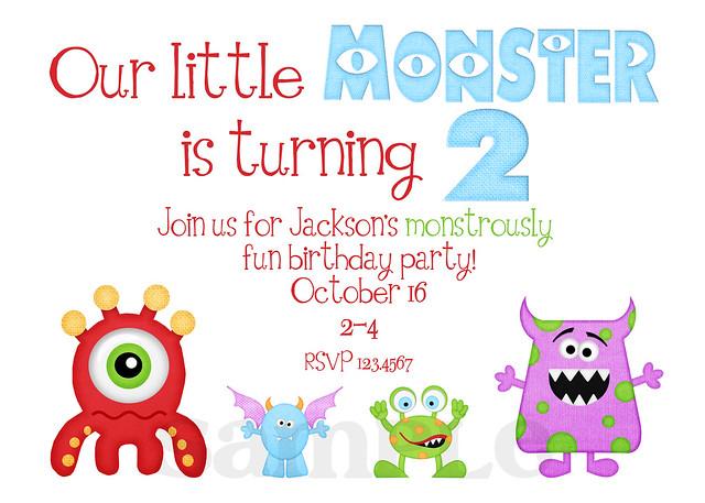 Monster Birthday 1