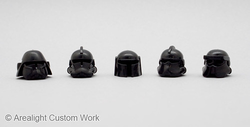 Plastic ABS Space Helmets (2)