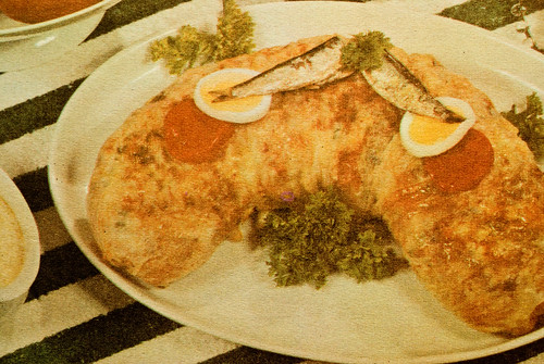 Norway sardine egg strudel