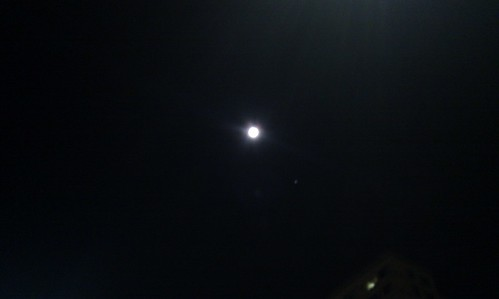 2010.09.23. 추석 다음날 보름달과 목성을 봄.
