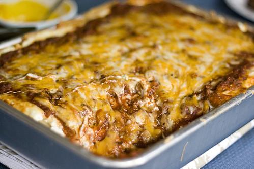 YOMYOMYOMeat Lasagna