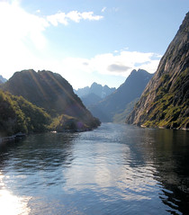 Trollfjord 1 (schimam) Tags: sea mountains nature norway landscape wasser natur norwegen berge landschaft hurtigrute hurtigruta trollfjord trollfjorden