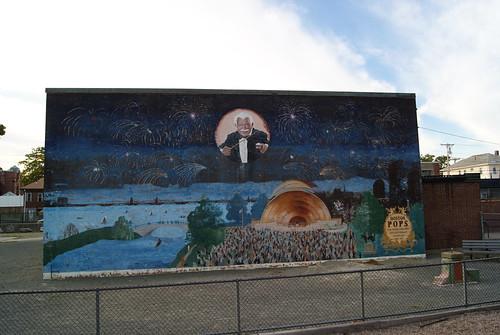 Arthur Fiedler Mural, Newton MA