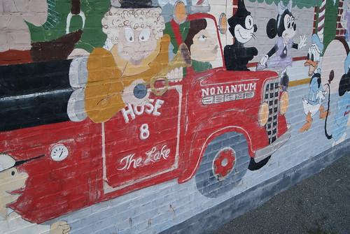 Hawthorn Playground Mural, Newton MA