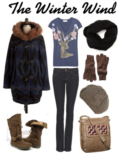 Polyvore: The Winter Wind