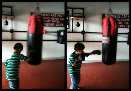 Jacob 's first boxing foray