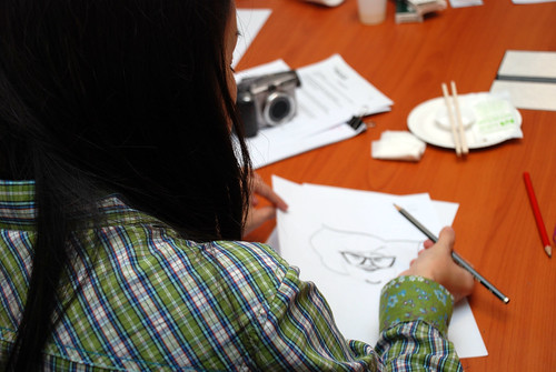 Caricature Workshop for Spire Research & Consulting - 18