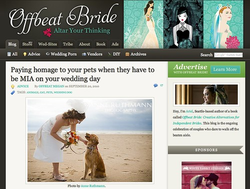 Offbeat Bride Feature