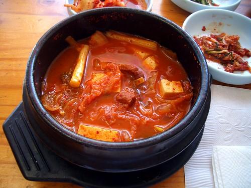 Mapo kimchi jjigae