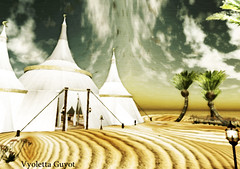 Oasis II (Vyoletta Guyot) Tags: desert digitalart arabic oasis secondlife arabia desierto kalepa vyolettaguyot