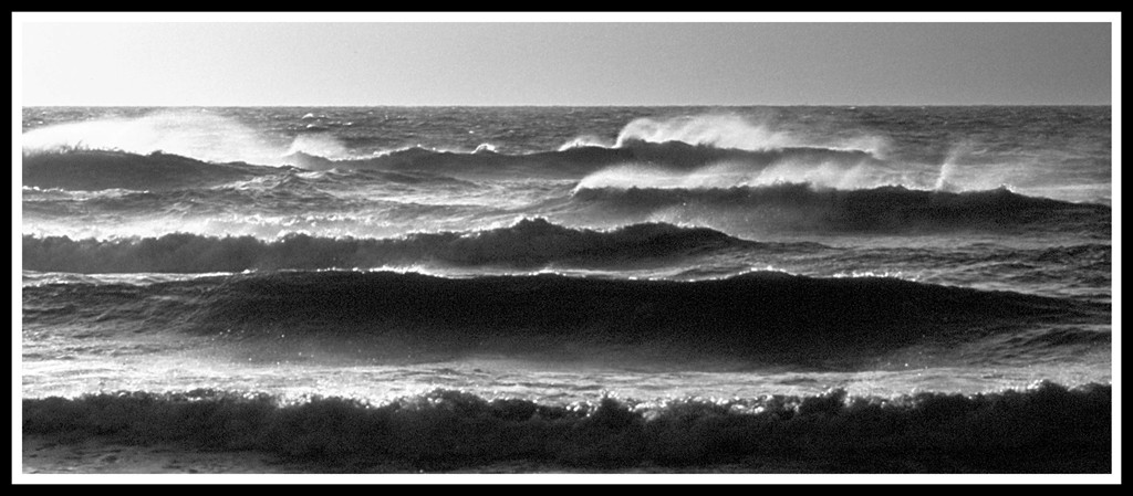 The Running Sea.Sker Sands.
