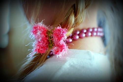 butterfly hair tie