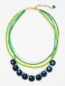 David Aubrey necklace aqua