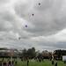 Helium balloons--Robert Bose's balloon Chain