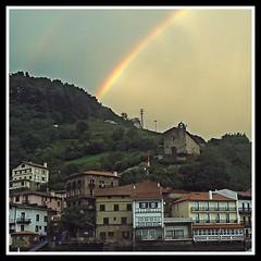 EL arco iris de San Juan. Gipuzkoa (Vale Sagredo) Tags: iris san sebastian juan donosti arco vasco euskadi pais mywinners