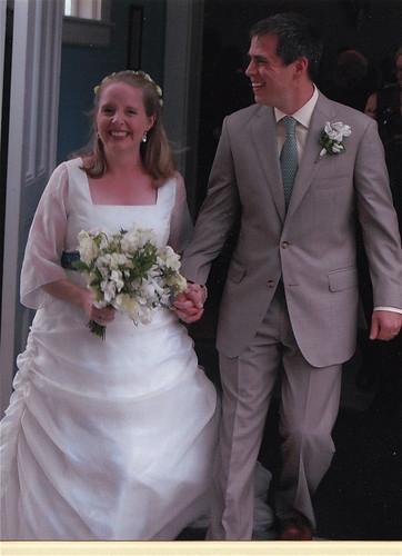 Merrill and Jonathan's wedding