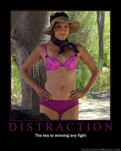 Motivational Poster: Distraction