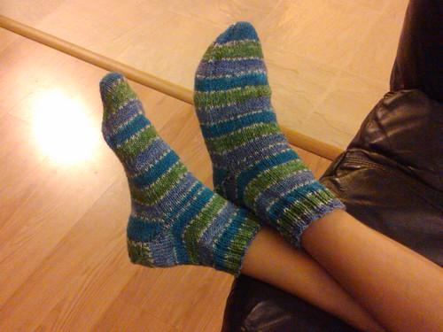 Jarett's socks