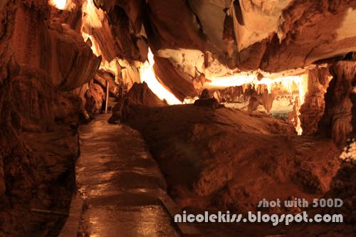 serene cave hiking