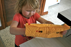 package in the post