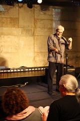 Event organizer Steve Dalachinsky
