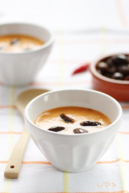 Zuppa di patate e peperoni