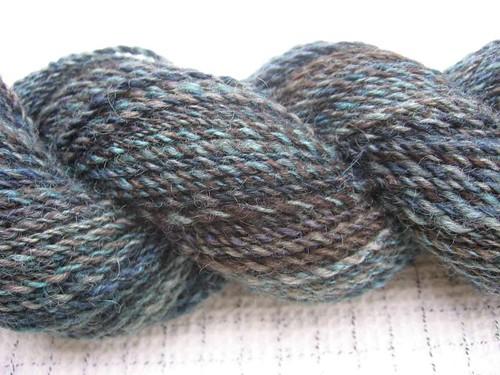 Z-ply yarn
