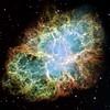 Hubble image of the Crab Nebula