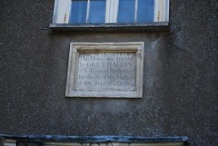 Photo of Thomas Chatterton stone plaque