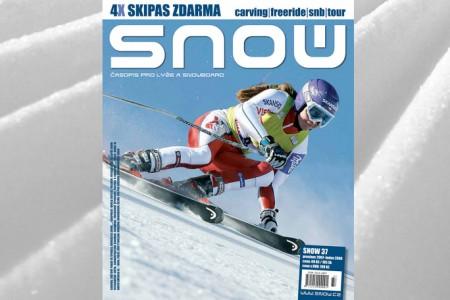 SNOW 37 + 4X SKIPAS ZDARMA + DIÁŘ 2008 (I VE VARIANTĚ S DVD WAR)