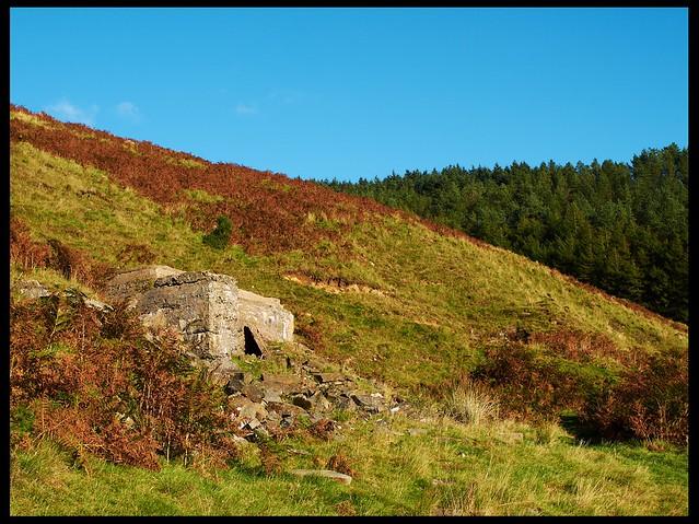 Remains of Cwm-y-Fuwch colliery