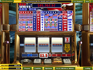 Red White and Win slot game online review