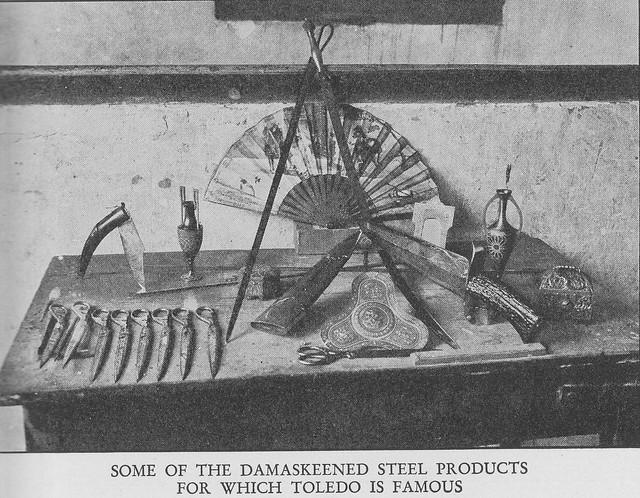 Productos típicos toledanos. Fotografía hacia 1915 de Edward Manuel Newman. The Hispanic Society of America