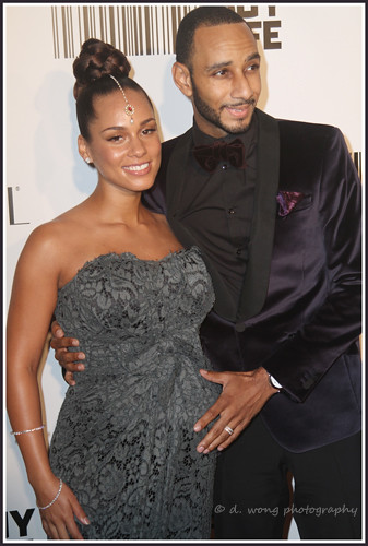 Alicia Keys & Swizz Beatz by debby19