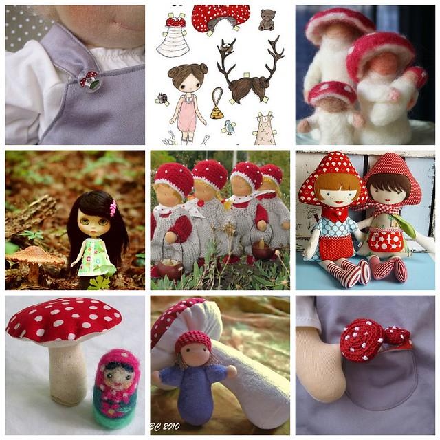 mushroom-doll inspiration