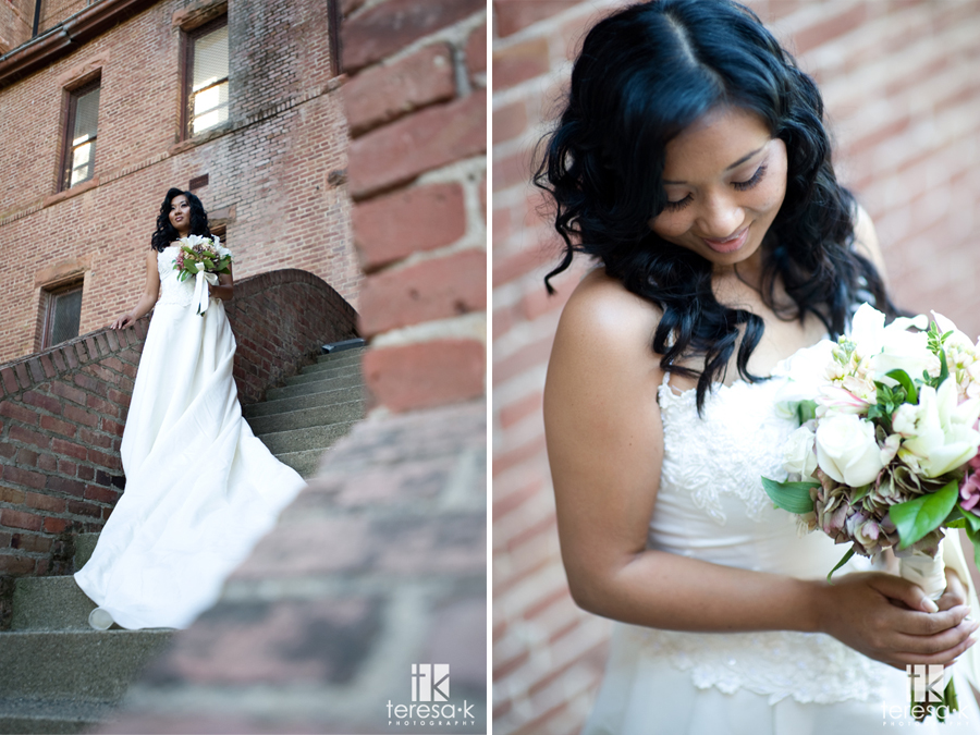 Bridal Images from the Preston Castle in Ione California by Teresa K photography