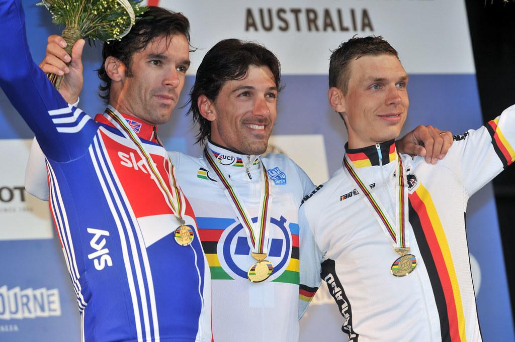 David Millar - World Championships, time trial