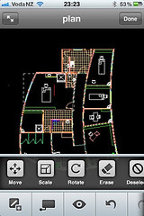 AutoCAD WS Modify