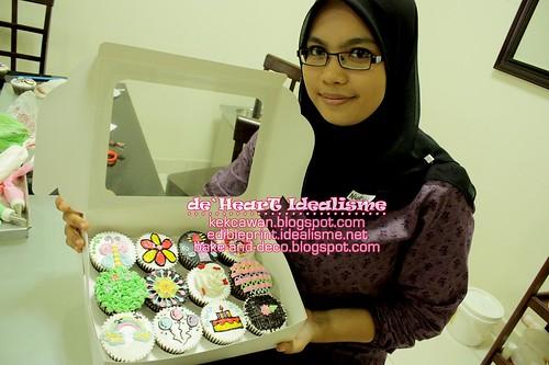 Batch 31 Julai: Basic Buttercream Cupcakes & Cake