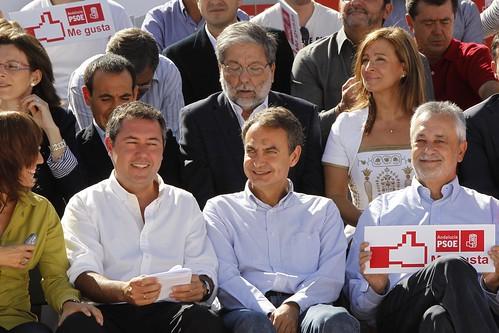 02-10-10 Mitin de Zapatero en Sevilla