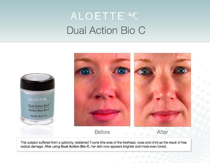 Aloette's Dual Action Bio C