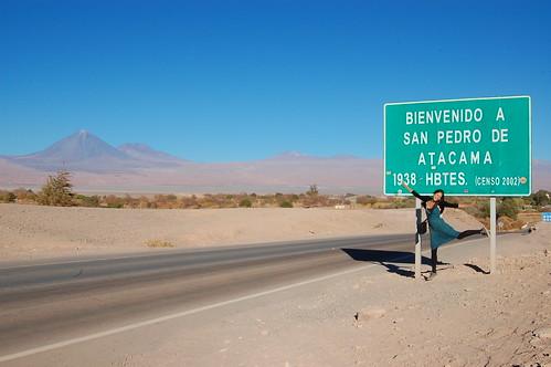 Fia at the border of San Pedro de Atacama