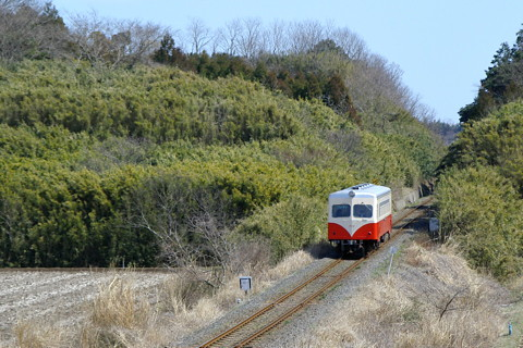 鹿島鉄道 2004年3月
