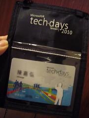 20100928-20100930 微軟 Tech Days
