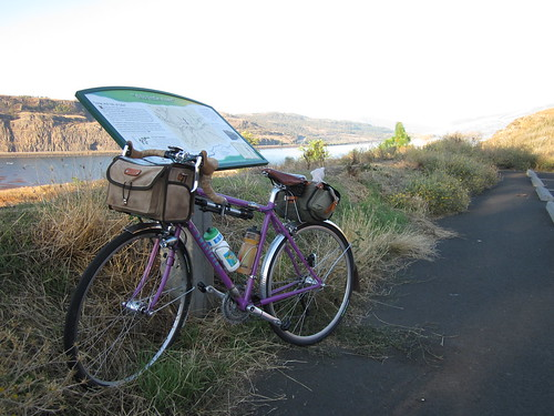 Pause on the Columbia River outside of Lyle