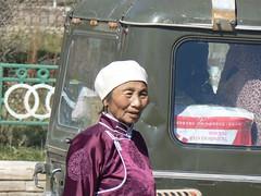 Random woman, Dalanzadgad (jayselley) Tags: asia september mongolia exodus 2010 mongol mongolianadventure