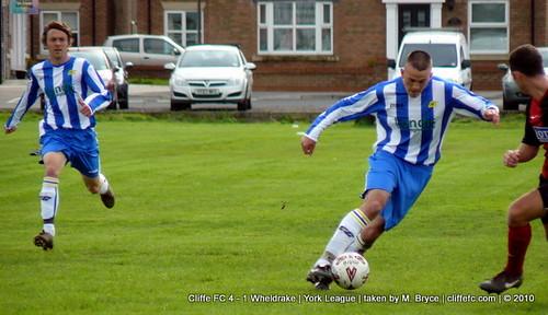 Cliffe FC 4 - 1 Wheldrake 2Oct10
