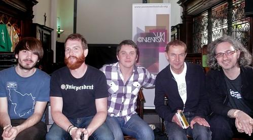 Outside the Box panel: Jamie, Clutch, Rich, Simon, Steve
