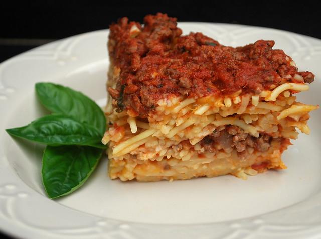 Spaghetti Pizza Bake1